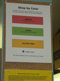Color Code to make food choice easier.