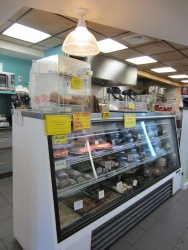 Old Creamery prepared food section and deli.